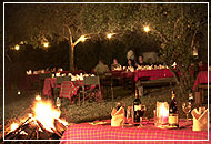 Boma dinner, Sarova Mara Game Camp