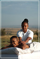 Bush Massage, Sarova Mara Game Camp