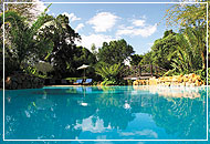 Swimming pool, Sarova Mara Game Camp